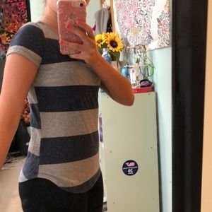 Old Navy Shirts & Tops - Blue and gray short sleeved tee